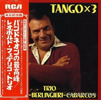 TRIO FEDERICO - BERLINGIERI - CABARCOS tango x3
