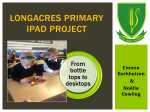 Longacres Primary iPad Project