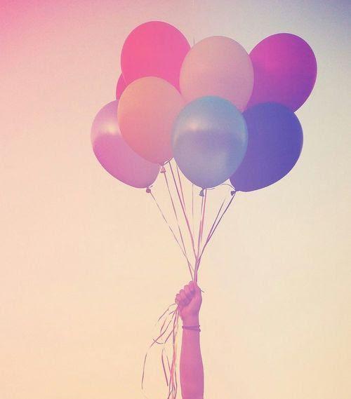 Balloons on We Heart It.
