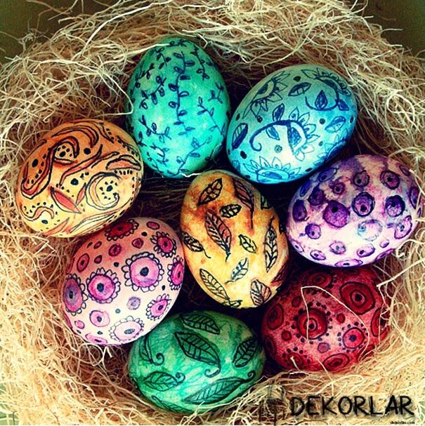 Yumurta Süsleme Sanatı Dekorlarcom Part 2