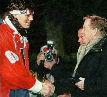 Jagr and Havel Pictures, Images and Photos