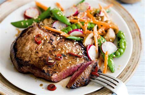 lime soy  sesame steak recipe steak recipes tesco