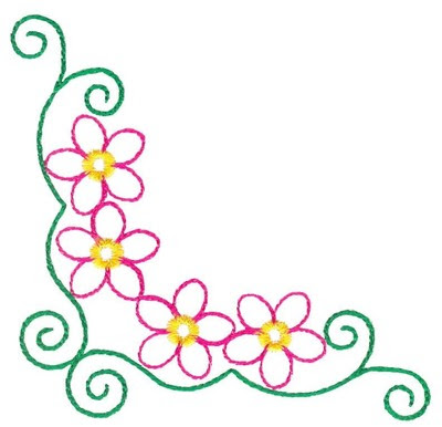 Free Simple Flower Page Border Designs Download Free Clip Art Free Clip Art On Clipart Library