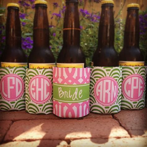 haymarket designs bridal party coozies