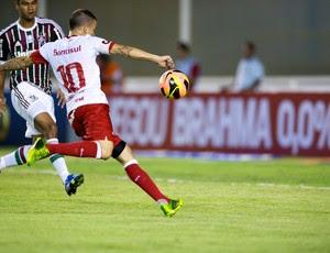 D'Alessandro marca contra o Fluminense (Foto: Alexandre Lops / Inter, DVG)