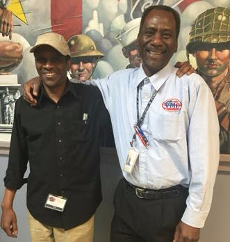 Veterans Thomas Green and Delvin Brinson