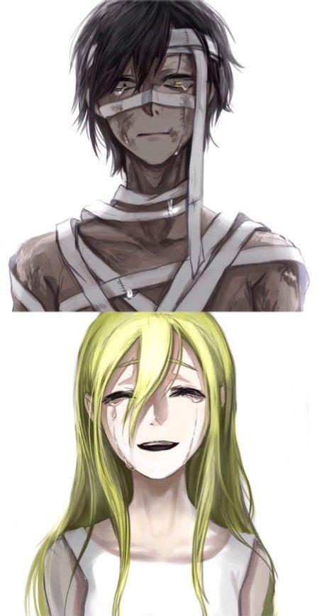 satsuriku  tenshi image anime oo angel  death