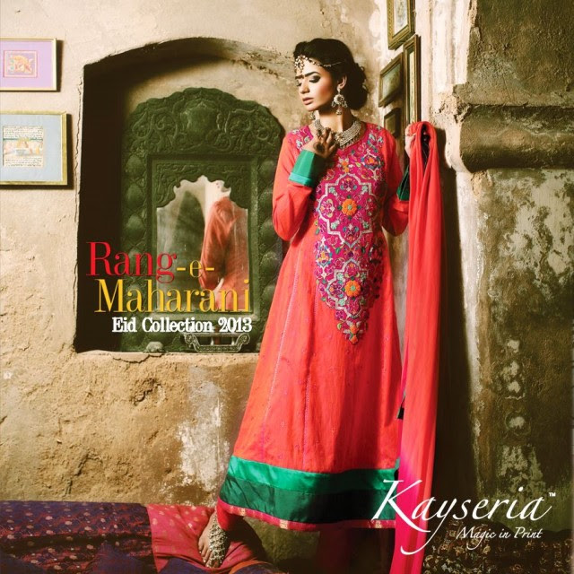 Rang-e-Maharam-New-Eid-Dress-Collection-2013-for-Girls-Womens-By-Kayseria-
