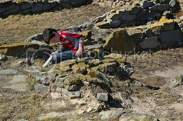 Iberian Ruins: The Lichen Boy [enlarge]