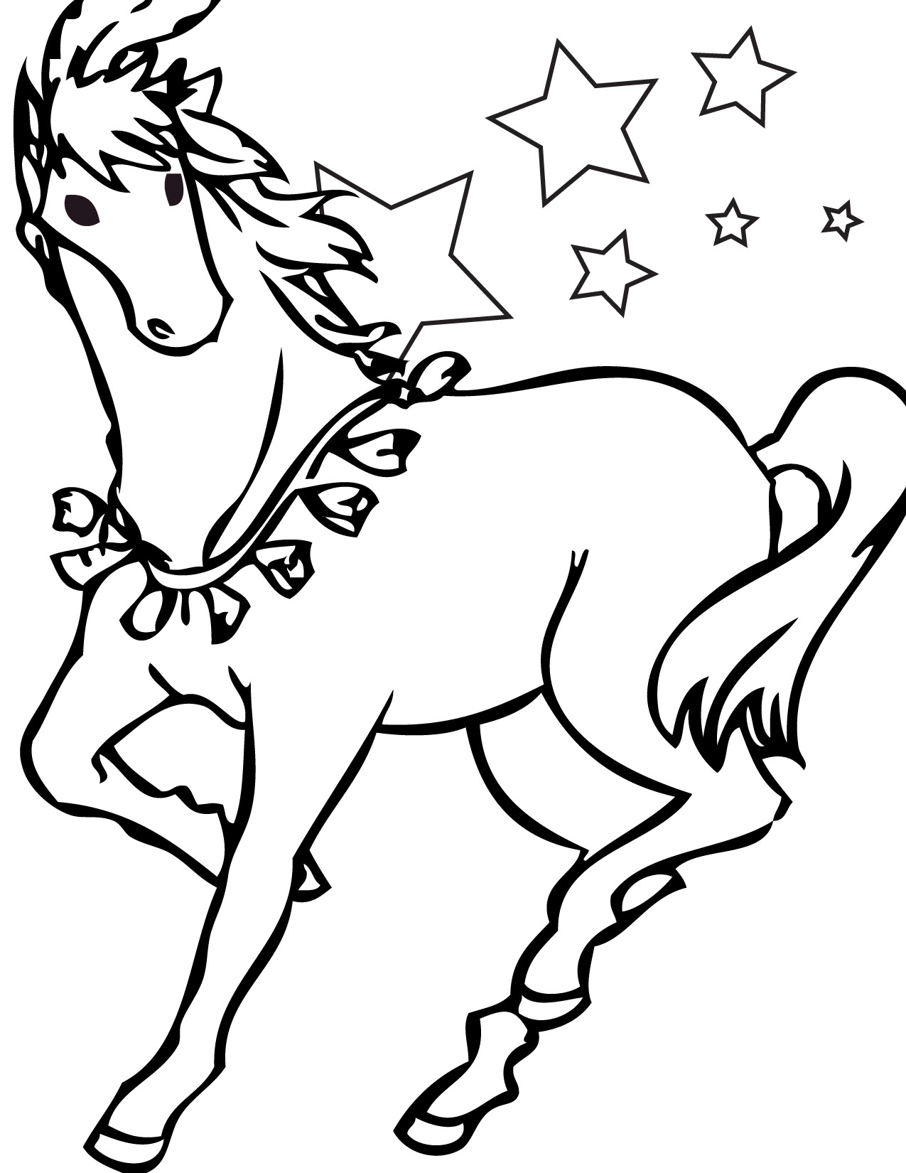 horse and pony coloring pages - photo#39