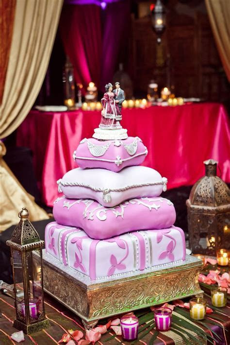 View Wedding Cake   Moroccan Pillows by Natalya   Bridal
