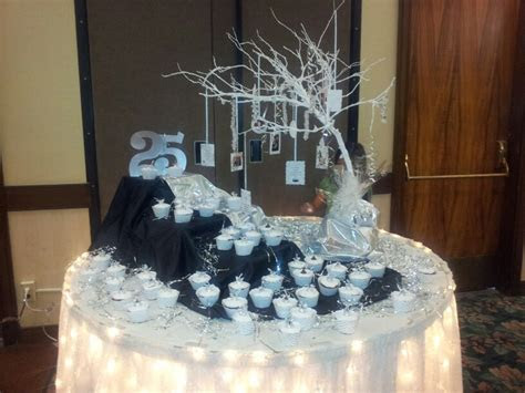 25th Wedding Anniversary Party Themes