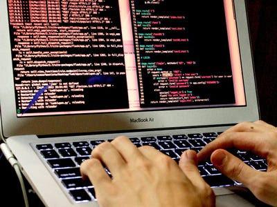 Computer Digital Hacker
