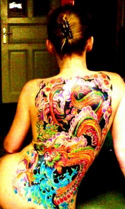 Full Womens Back Japanese Dragon Tattoo Designs Tattoomagz