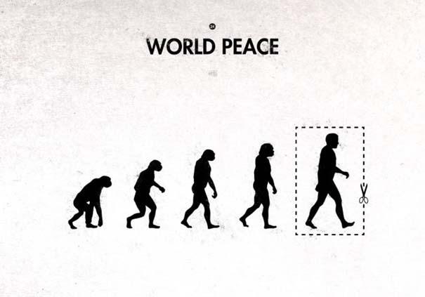 Η διάσημη εικόνα της ανθρώπινης εξέλιξης σε διαφορετικές εκδοχές (7)