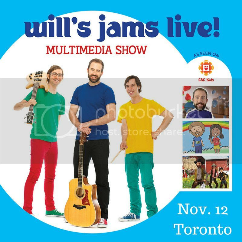 Wills Jams Toronto Nov 12 concert