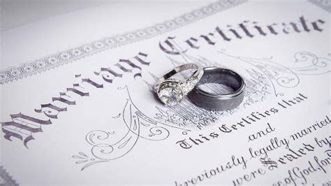 How Much Does a Marriage License Cost   Fees