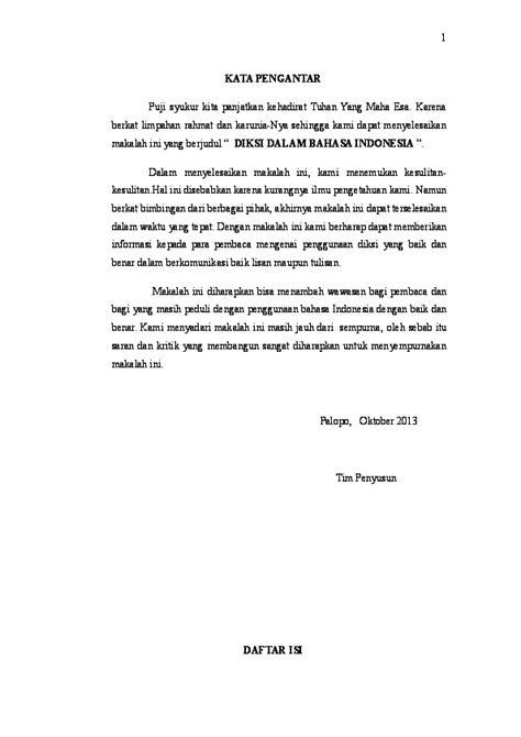 (DOC) makalah diksi bahasa indonesia | sylvia savio