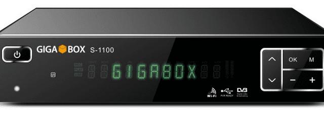 GIGABOX S1100 NOVA ATUALIZAÇÃO - 08/01/2018