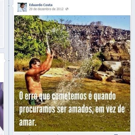 Eduardo Costa posta mensagem no Facebook