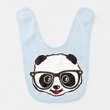 Cute Panda Baby Bib