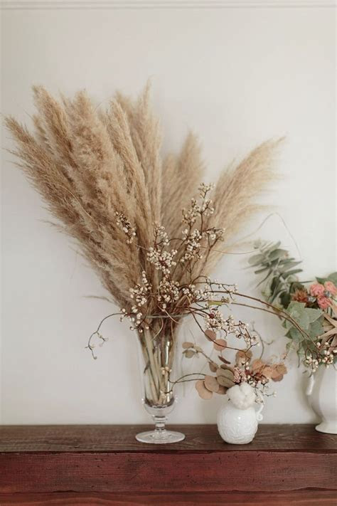 3 Ways To Decorate With Dried Flowers     dried flowers