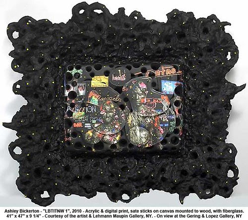 "Ashley Bickerton - ""LBTITNW 1"", 2010 by artimageslibrary"