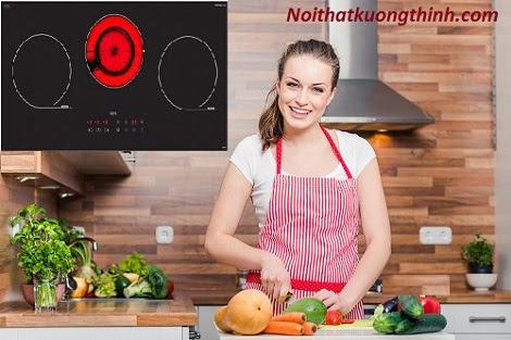 Trổ tài nấu nướng cùng với bếp điện từ Uber 2V880
