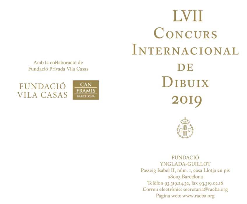 La Fundació Ynglada Guillot Convoca Su Concurso De Dibujo 2019