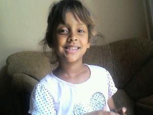 Criança morreu atropelada no Araretama em Pindamonhangaba (Foto: Arquivo pessoal/Bruna Alvarenga)
