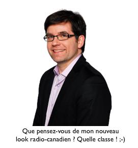 Martin Lessard, chroniqueyr techno à Radio-canada.ca