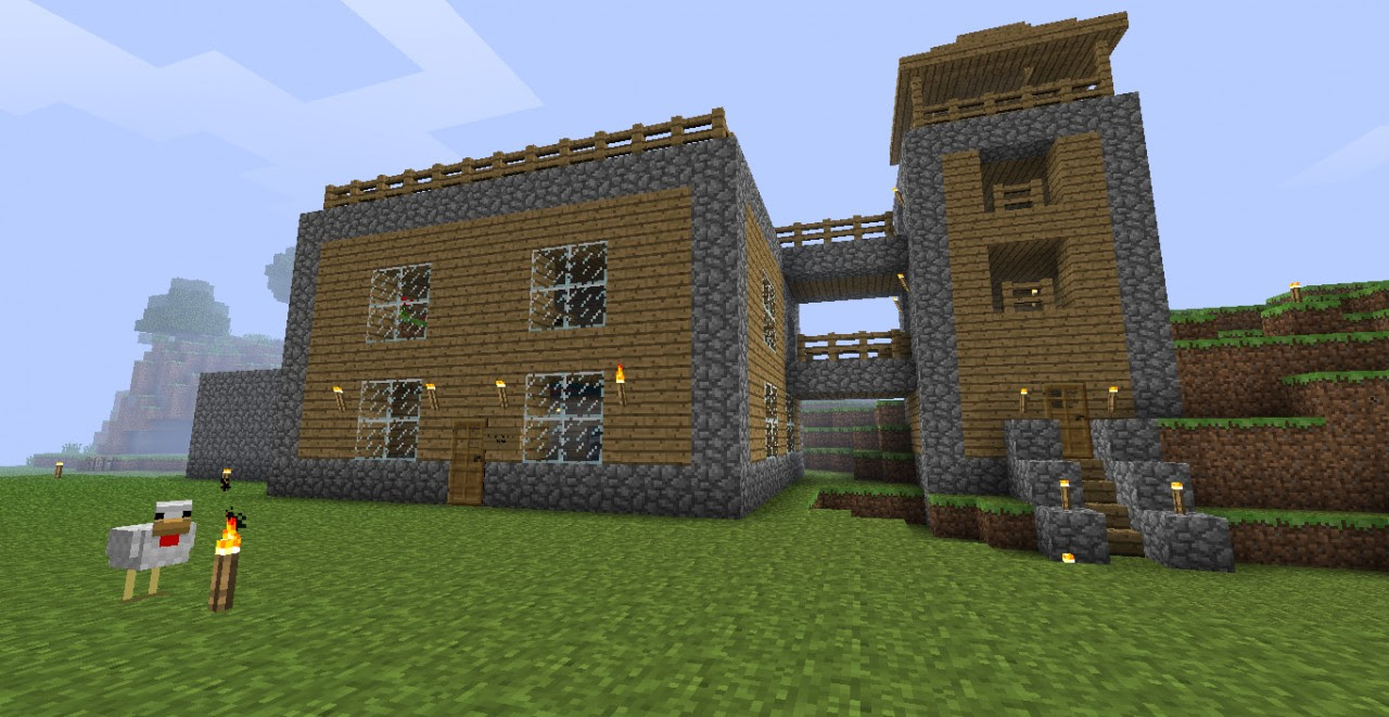Cool Easy Minecraft House Designs Cool Minecraft House ...