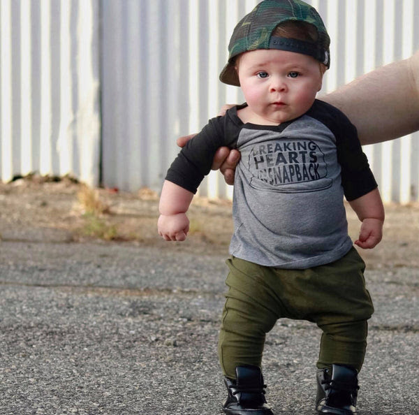 Breaking Hearts In My Snapback Stylish Baby Boy Clothes Trendy