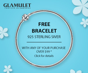 FREE SILVER BRACELET + CHARMS + SHIPPING ON ORDERS OVER $99.00