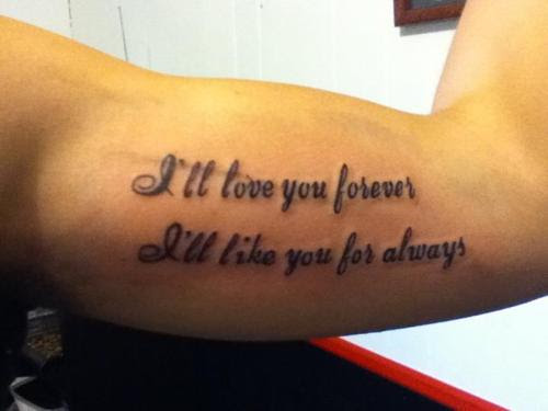 Quotes About Mom Tattoos 23 Quotes