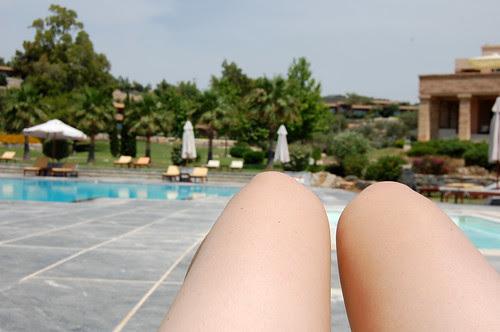 greece - sounion - hotel pool