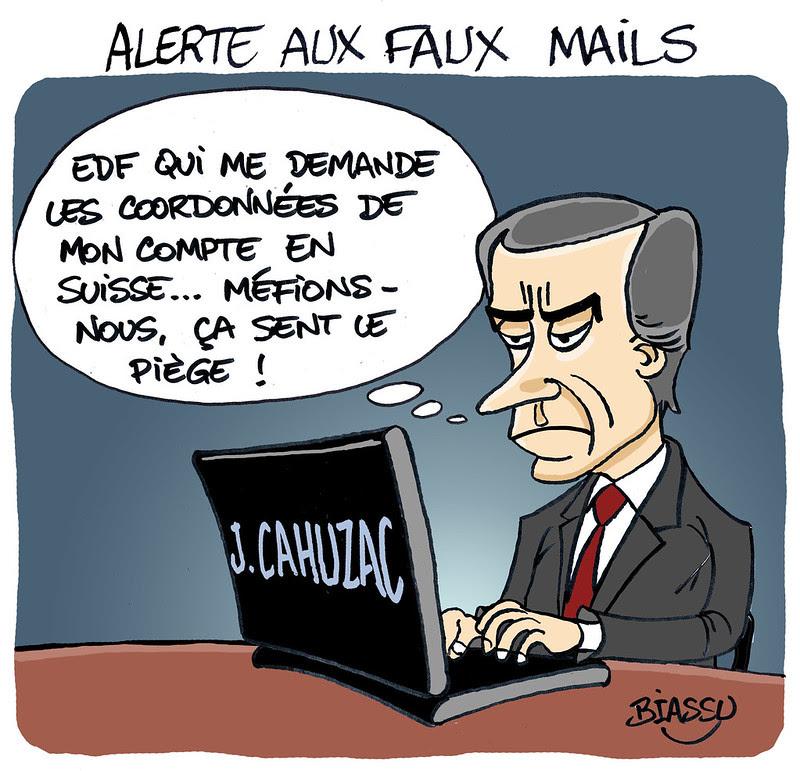 cahuzac+ humour+phishing+EDF+Biassu