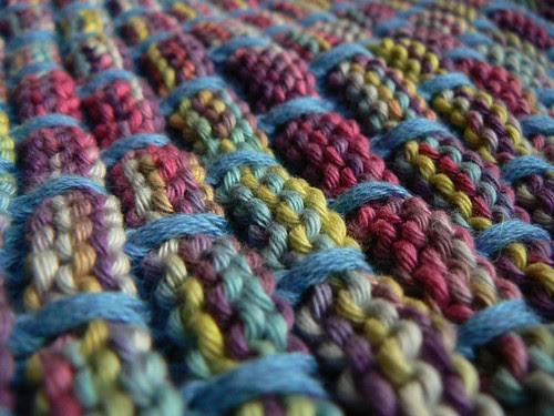 dishcloth closeup