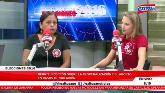 """Luciana León: """"(Si te violan) puedes hacerte un lavado vaginal"""". (Radio Exitosa / Captura)"""