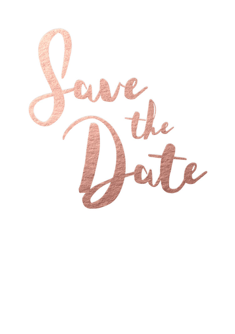save the date rockwell rose gold foil 750x1066