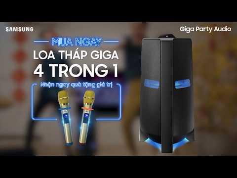 Loa tháp Samsung Giga 4 trong 1 cho Tết lớn thêm rộn rã