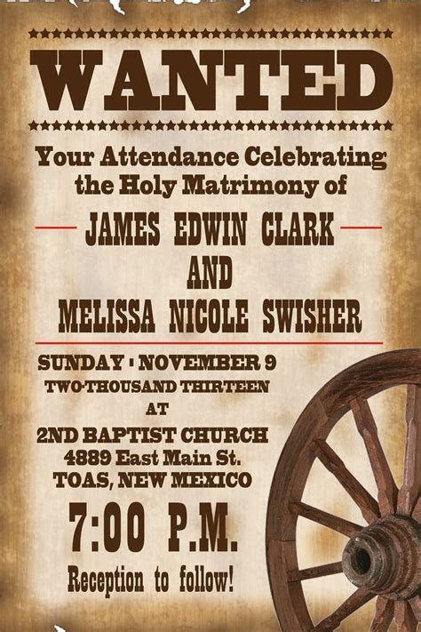 Best 25  Western Wedding Invitations ideas on Pinterest