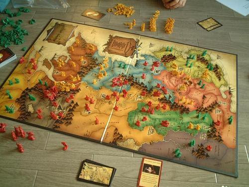 Image result for lord of the rings risk