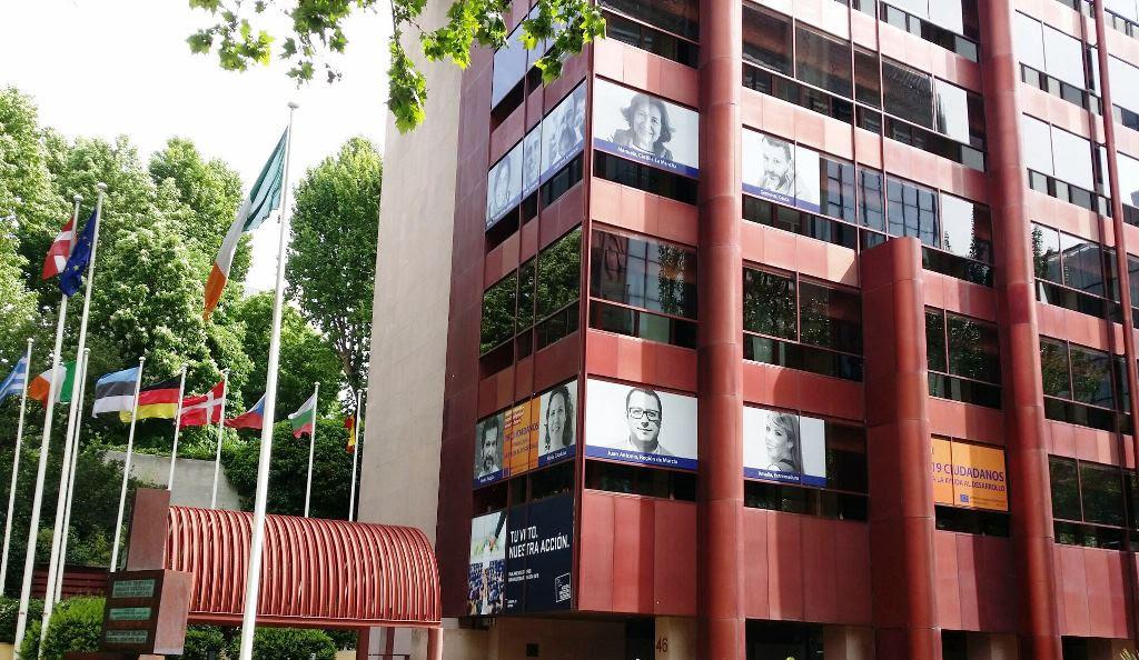 sede de las Instituciones Europeas en Madrid
