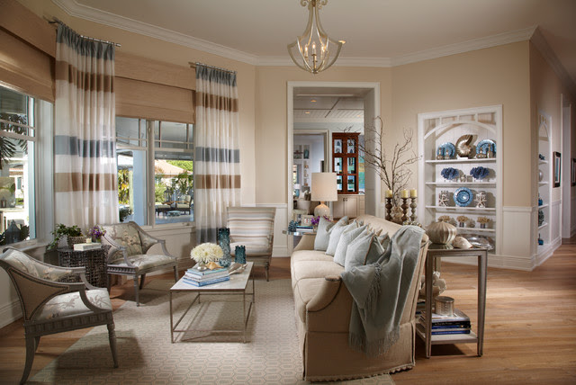 Coastal Living | Davis Island | Interior Design - tropical