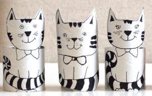 Игрушки из рулонов от туалетной бумаги (25)