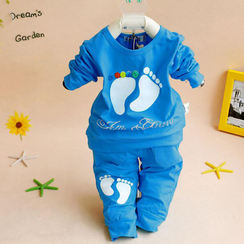 Baby Clothing Set Casual Baby Boy Clothes Children Clothing Casual Sport Tops + Pants Boys Set
