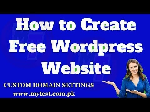 How To Create Free WordPress Website Part 2