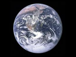 NASA image of the planet Earth