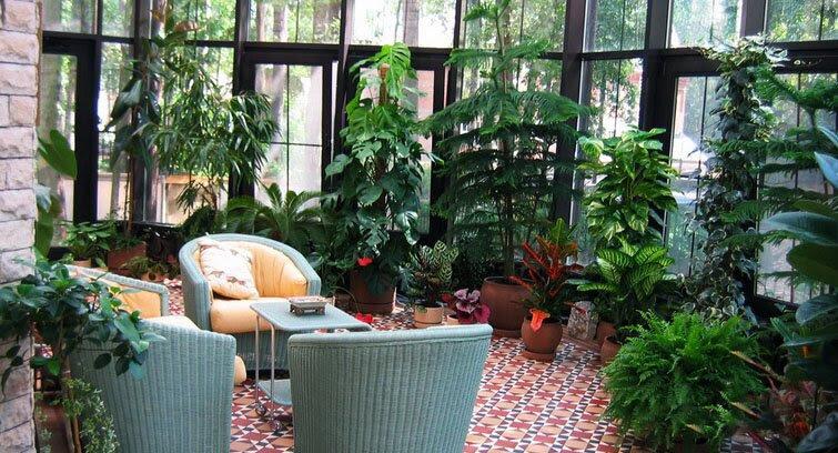 Desain Taman Dalam Rumah Idaman